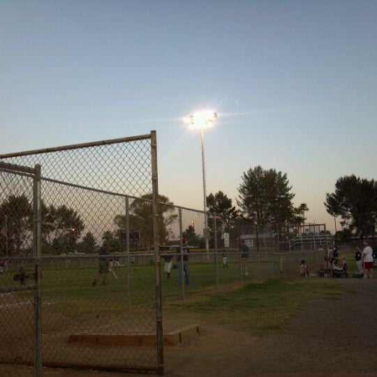 Photo taken at Ft Lowell Park by Miguel P. on 5/13/2012