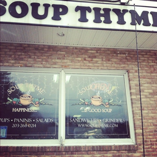 Photo taken at Soup Thyme by Marissa on 2/22/2012