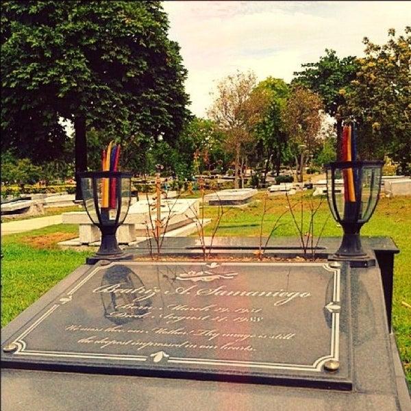 Photo taken at Manila Memorial Park by Girard S. on 5/13/2012