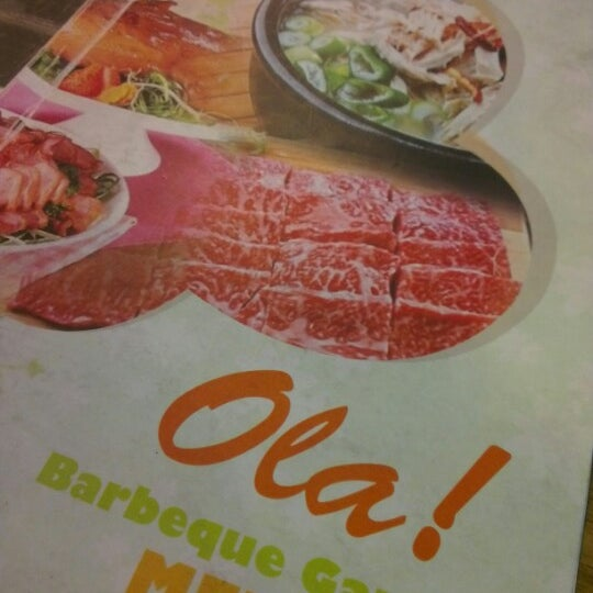 Photo taken at Ola! Barbeque Garden by suetfong on 8/13/2012