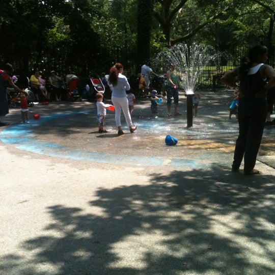 Photo taken at Central Park - Mariners' Gate Playground by Gabrielle M. on 5/29/2012