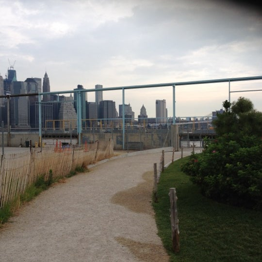 Photo taken at Brooklyn Bridge Park - Pier 6 by Maura L. on 7/15/2012