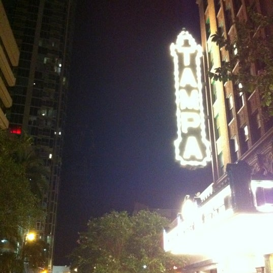 Photo taken at Tampa Theatre by arturo n. on 6/30/2012