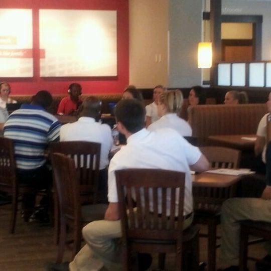 Photo taken at Bob Evans Restaurant by Alex G. on 4/26/2012