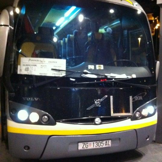 Photo taken at Autobusni Kolodvor Dubrovnik | Dubrovnik Bus Station by Little Wing R. on 2/26/2012