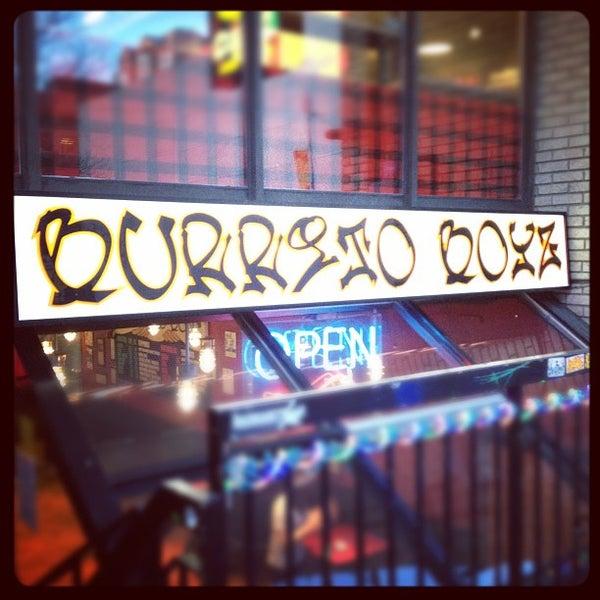 Photo taken at Burrito Boyz by Chris M. on 2/8/2012