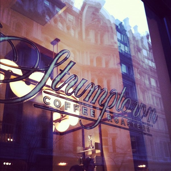 Photo taken at Stumptown Coffee Roasters by Andy S. on 1/26/2012