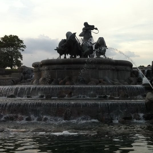 Photo taken at Gefion Fountain by Ole N. on 7/10/2011