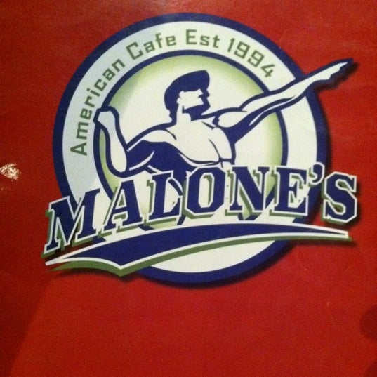 Photo taken at Malone's by Kraig S. on 12/9/2011