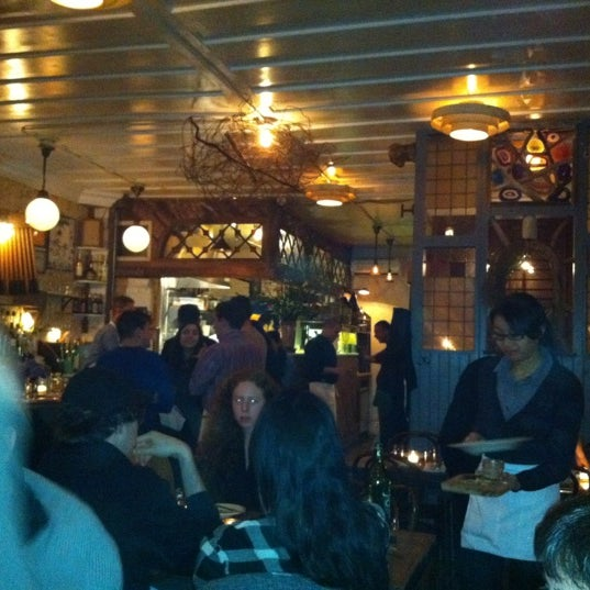 Photo taken at Vinegar Hill House by Patrick T. on 2/17/2012