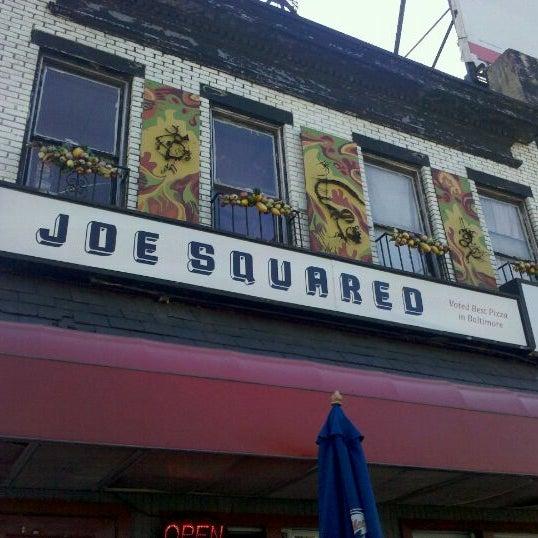 Photo taken at Joe Squared Pizza & Bar by Ryan S. on 10/8/2011