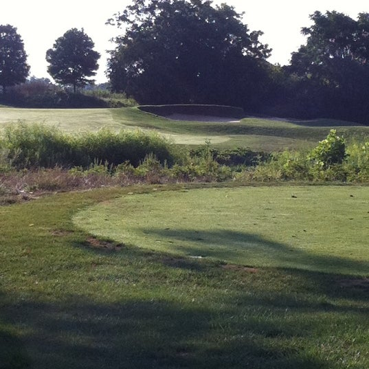 Photo taken at Raspberry Falls Golf & Hunt Club by Susan B. on 8/8/2011