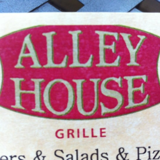 Photo taken at Alley House Grille by Bryon M. on 6/13/2012