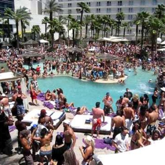 best pool partys in vegas
