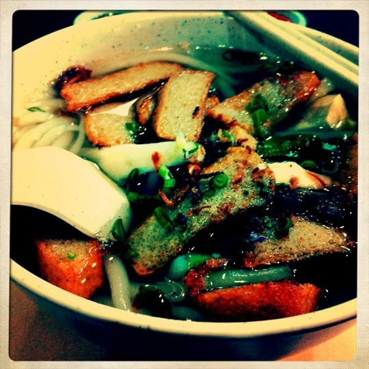 The yong tau foo is good