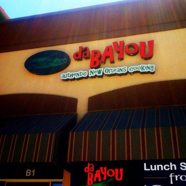 Photo taken at Da Bayou by Gabby H. on 7/16/2012