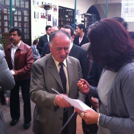 Photo taken at SCJN Casa De La Cultura Jurídica, EDOMEX by Dante M. on 5/9/2012
