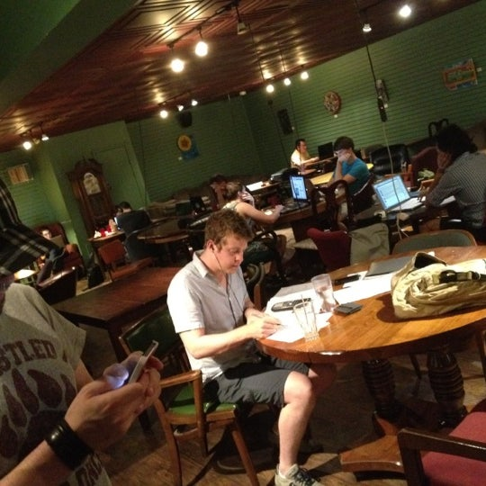 Photo taken at Bennu Coffee by Dillon P. on 8/12/2012