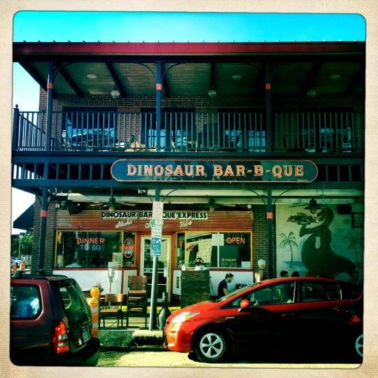 Photo taken at Dinosaur Bar-B-Que by David L. on 8/6/2012