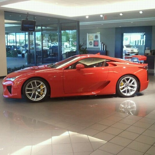 Photo Taken At Park Place Lexus Plano By Frank S. On 10/18/