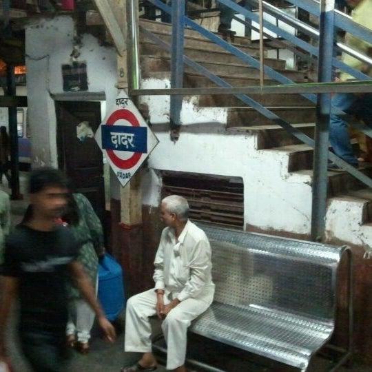 Photo taken at Dadar Railway Station by Ravish P. on 5/22/2011