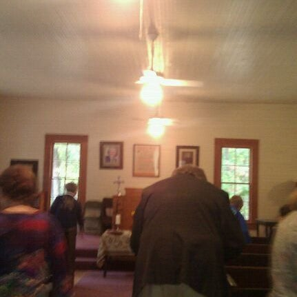 Photo taken at Liberty Universalist Church by Brandi C. on 10/23/2011