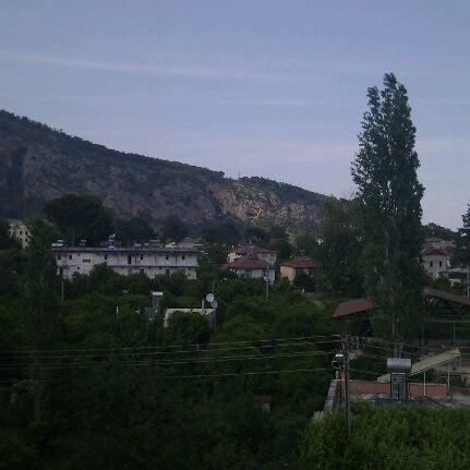 Photo taken at Beldibi by Aleksandra P. on 5/8/2012