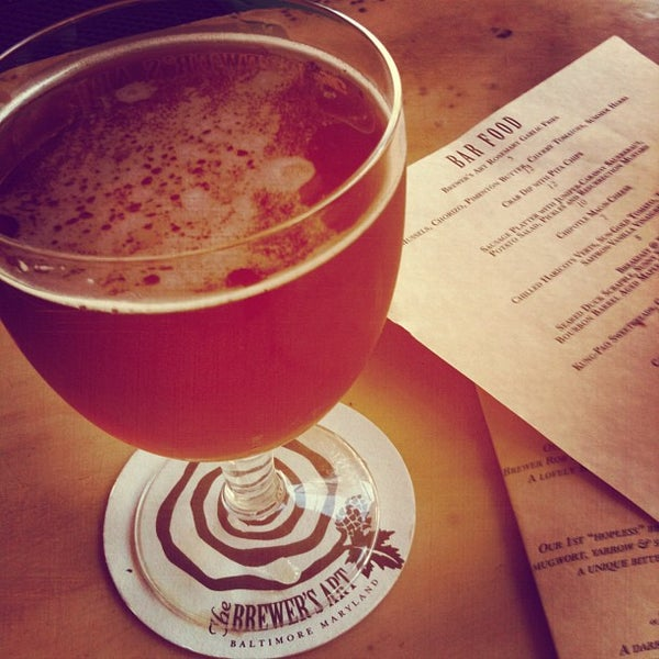 Photo taken at The Brewer's Art by Mark S. on 8/24/2012