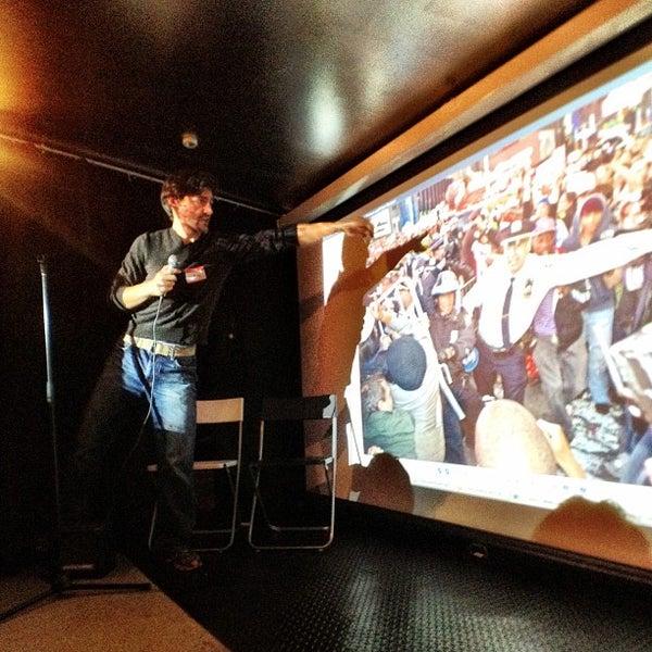Photo taken at SoHo Gallery for Digital Art by Postagram on 10/27/2011