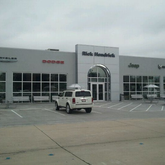 Photo Taken At Rick Hendrick Jeep Chrysler Dodge RAM By Greg W. On 10/
