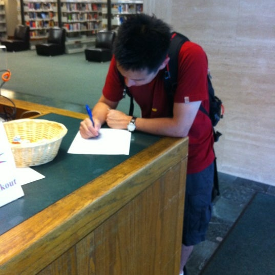 Photo taken at New York Public Library - Riverside Library by Helen L. on 6/2/2012