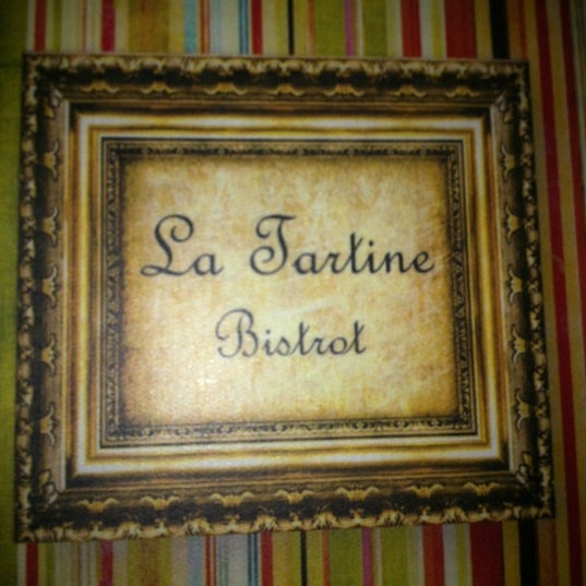 Foto tirada no(a) La Tartine Bistrot por Priscila S. em 5/12/2012