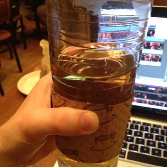 Photo taken at The Coffee Shop NE by Daniel W. on 3/7/2012