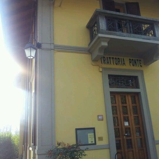 Foto scattata a Trattoria Ponte Vecchio da Alessandro D. il 11/26/2011