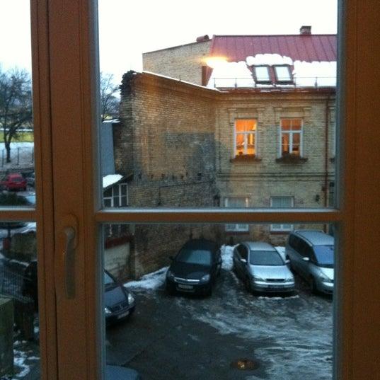 Photo taken at Comfort Hotel Vilnius by Madama K. on 2/24/2012