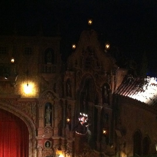 Photo taken at Tampa Theatre by Sarah R. on 7/24/2011