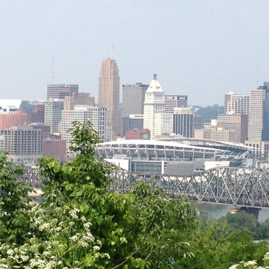 Photo taken at Devou Overlook by Stephen J. on 5/26/2012