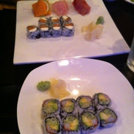 Photo taken at Masamoto Sushi & Asian Grill by Krista H. on 12/27/2011