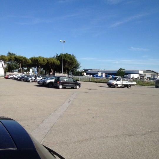 Photo taken at Parcheggio Via Sassonia by Namer M. on 5/22/2012