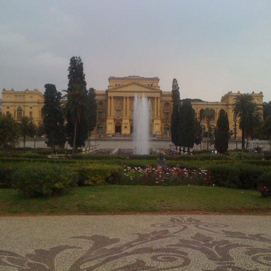 Das Foto wurde bei Museu Paulista von Wescley L. am 7/7/2012 aufgenommen