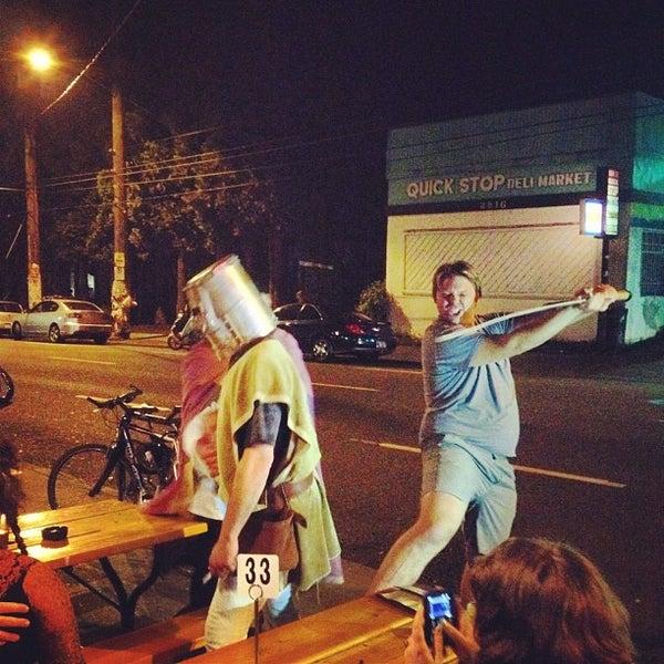 Photo taken at Bonfire Lounge by PDX P. on 4/22/2012