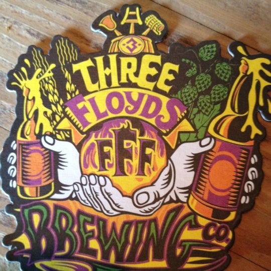 Photo taken at 3 Floyds Brewery & Pub by Ellen S. on 6/30/2012