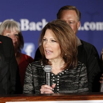 Minnesota congresswoman Michele Bachmann announced she will end her bid for the Republican presidential nomination Wednesday, January 4, 2012 http://nbcnews.to/HGq6Qk NBCPolitics.com