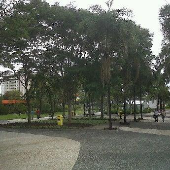Photo taken at Calçadão Oiapoque by Fabio H. on 3/24/2012