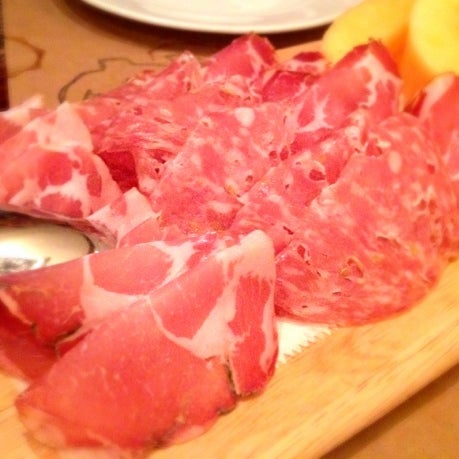 Photo taken at Salumeria 104 by ChatChowTV G. on 6/9/2012