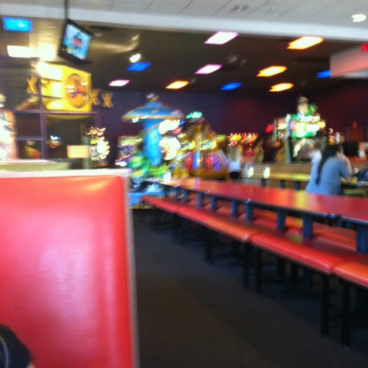 Photo taken at Peter Piper Pizza by Amber C. on 3/21/2012