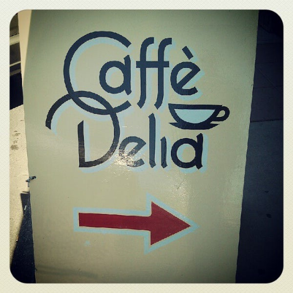 Photo taken at Caffe Delia by Eric 'Otis' S. on 5/25/2012