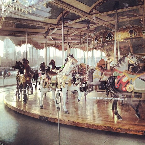 Photo taken at Jane's Carousel by Stinky Cat B. on 6/9/2012