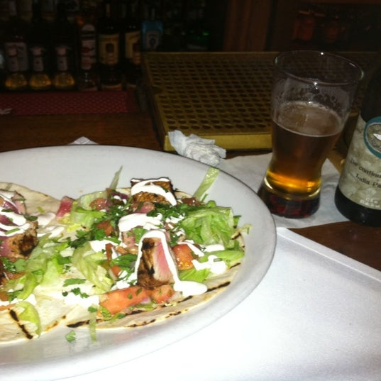 Photo taken at Max's on Main by christopher d. on 7/7/2012