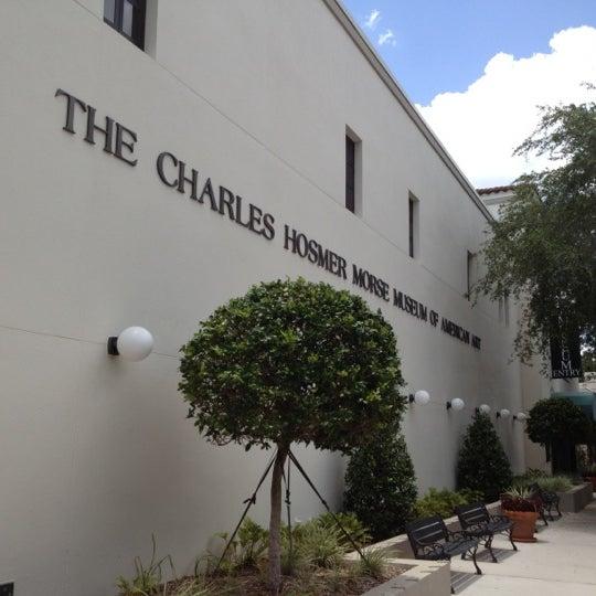 Photo taken at Charles Hosmer Morse Museum Of American Art by Amanda E. on 7/7/2012